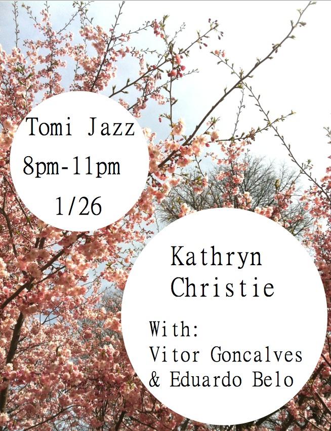 Kathryn Christie - Tomi Jazz