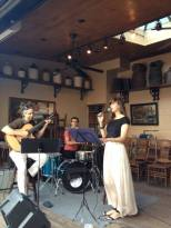 Brazilian trio at LIC Bar in NY