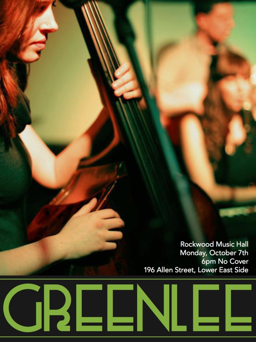 Greenlee's Rockwood Music Hall Debut
