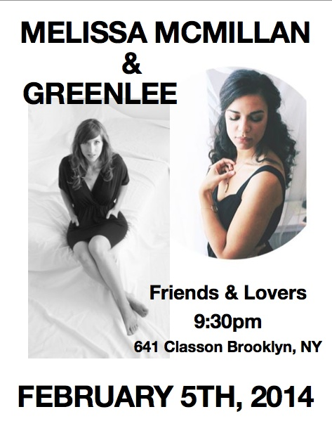 Greenlee at Friends & Lovers